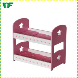 High Evaluation Wooden Baby Doll Bunk Bed pictures & photos