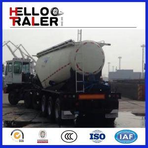 3 Axles Truck Transport Bulk Cement Tanker Trailer pictures & photos