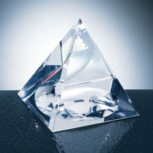 Crystal Laser Engraving Pyramid (JC4332CL)