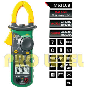 Digital AC & DC Clamp Meter (MS2108) pictures & photos