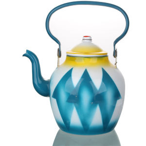 2015 High Grade Fashion Enamel Kettle/ Teapot pictures & photos