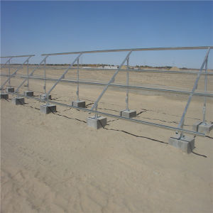 Pvsolver Ground Mounted Solar Rack System