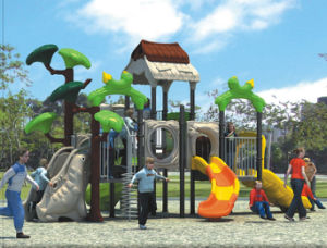2015 Hot Selling Outdoor Playground Slide with GS and TUV Certificate (QQ14003-1) pictures & photos
