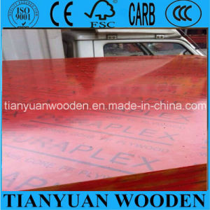 Waterproof Film Faced Marine Shuttering Plywood for Concrete Construction pictures & photos