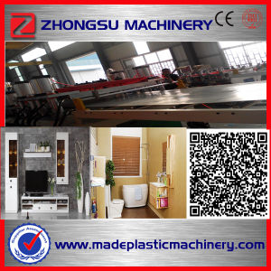 High Output PVC Crust Foam Board Production Line pictures & photos