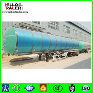 3 Axle 42000L Aluminum Tanker for Transporting Edible Oil pictures & photos