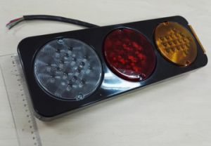 Tail/Stop/Turn Signal Reflector Lamp for Truck/Trailer/Bus Lt-112 pictures & photos
