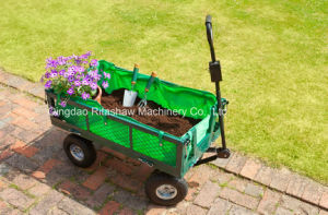 Steel Utility Cart Carts 800 Lb. Yard Garden Wagon pictures & photos