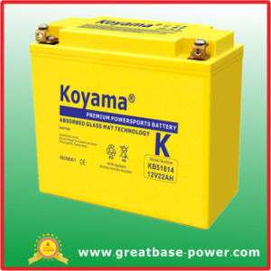 22ah 12V Motorcycle Battery pictures & photos