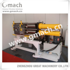 Recycling/Pelletzing Extrusion Line Used Automatic Back Flush Screen Changer pictures & photos
