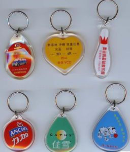 Hight Quality Cheap Clean Acrylic Keychains pictures & photos