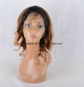 100% Human Hair Wig Body Wave Lace Front Wig pictures & photos
