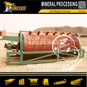 Gravity Gold Ore Recovery Vibrating Washing Machine Drum Trommel Screen
