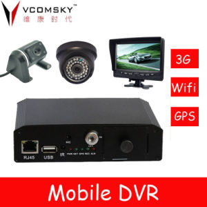 Vehicle Mobile DVR Monitoring Solution pictures & photos