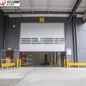 Remote Control Aluminum High Speed Roller Shutter Doors pictures & photos