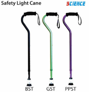 Stick & Cane New Safety Light Cane Automatically Turns on and off pictures & photos