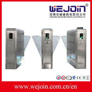 Automatic Flap Turnstiles Gate & Security Barriers pictures & photos