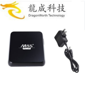 2016 China Manufacture Android TV Box M8s+ Plus S905 1g 8g Android 5.1 Amlogic S905 Quad Core Kodi Smart Media TV Box pictures & photos