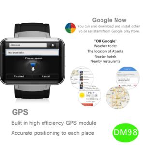 Big Touch Screen 3G Smart Android Watch (DM98) pictures & photos