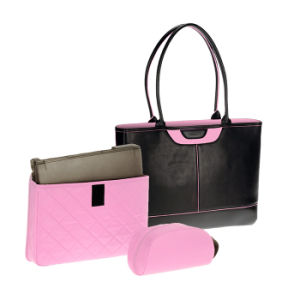 Designer Bag Lady Fashion Cosmetic Computer Laptop Handbags with SGS pictures & photos