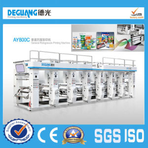 Best Sell Shaftless 8 Color Rotogravure Printing Machine pictures & photos