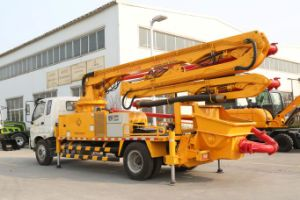 Truck-Mounted Concrete Boom Pump Xnd5161-32m pictures & photos