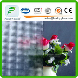 3mm-8mm Clear Crystal Patterned Art Glass in Good Quality pictures & photos