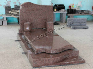 Poland Red Granite Tombstone / Monument pictures & photos