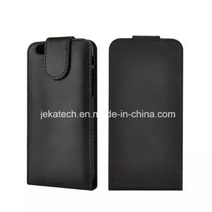 Vertical Flip Top Open Leather Case for iPhone 6 Plus pictures & photos