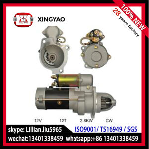 28mt Starter Motor for Bobcat FIAT Div. Hyster Lister (50-8403 1113273) pictures & photos