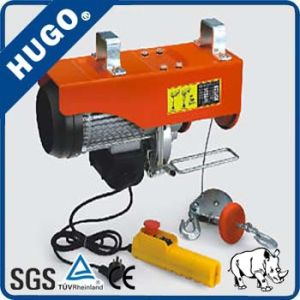 Single Phase PA 200kg Mini Electric Wire Rope Hoist pictures & photos