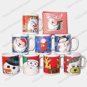 Christmas Music Mug, Music Mugs, Ceramic Cup, Mug (S-4701) pictures & photos