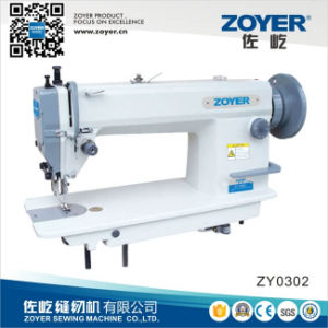 Zoyer Heavy Duty Big Hook Lockstitch Industrial Sewing Machine (ZY0302) pictures & photos