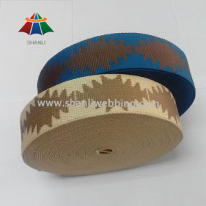 "1.5"" Inch Polyester Jacquard Webbing (with Pattern on the webbing) pictures & photos"