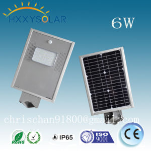 6W Saving Energy All in One Solar Street Light Solar Garden Light pictures & photos