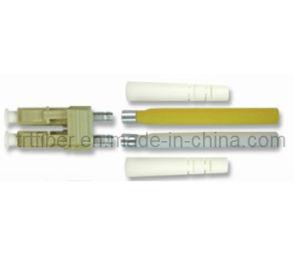 LC/PC Multi Mode Duplex 2.0mm Fiber Connector pictures & photos