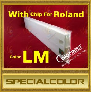 440ml Roland Printer Ink Cartridge with Chip (Color LM) pictures & photos