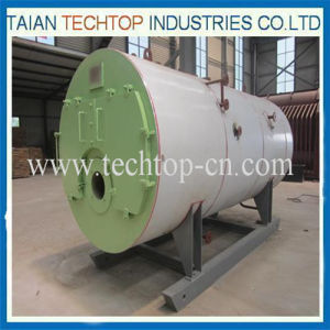 Wns High Thermal Efficiency Horizontal Oil Boiler pictures & photos