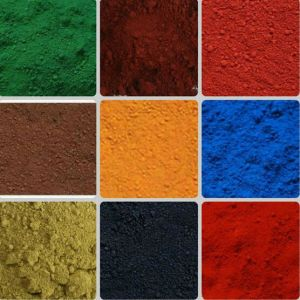 High Purity Synthetic Pigment Iron Oxide Green for Painting pictures & photos
