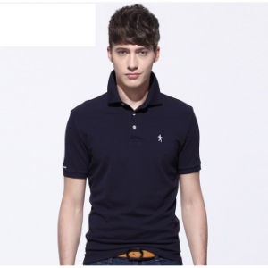 2016 Hot Sell Fashion Custom 100%Cotton Men Polo Shirt pictures & photos