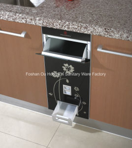 Embedded Rice Dispenser for Kitchen Cabinet with Flower Pattern pictures & photos
