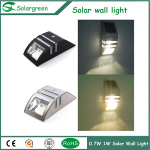 1W Cheap High Lumen Wall-Mounted Solar Parking Fence Wall Lights pictures & photos