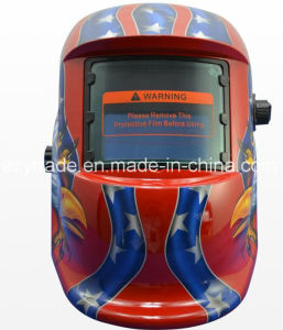 Automatic Dimming Helmets Auto Darkening Solar Welding Helmet pictures & photos