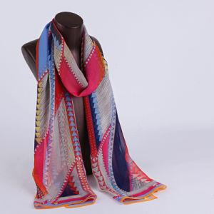 2016 Top Sale Fashion Printed Silk Scarf Ss1026