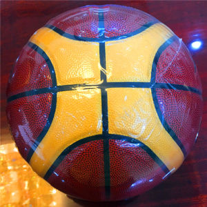 Basketball Customized Wear-Resisting Quality Cheap 12pieces 4#5#6#7# Sg0026 PU Basketball pictures & photos