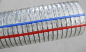 PVC Spiral Steel Wire Reinforced Hose pictures & photos