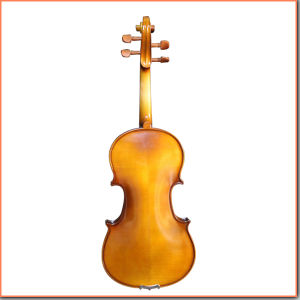 Middle Grade Half Hand-Made Coffee Color Violin pictures & photos
