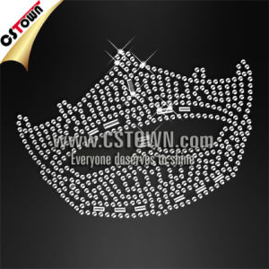 Sparkling Crown Crystal Motif Iron on Tee Shirt Transfers