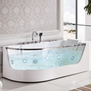 China Acrylic Normal Whirlpool Bathtub Indoor For Single Person SF5B006 C