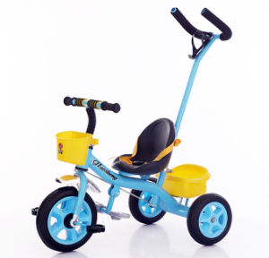 Baby Tricycle Kids Toys Three Wheeler Pram Trike for Sale pictures & photos